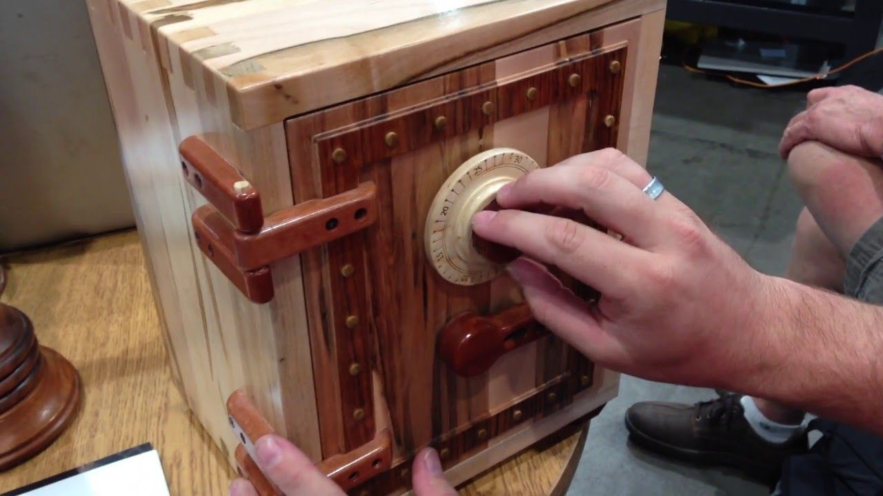 Wooden Combination Lock Mechanism Youtube