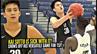 "7'3"" Kai Sotto TOYS w/ The Defender w/ SICK Fake Move!! Shows Off His VERSATILE Game vs St Patrick!"