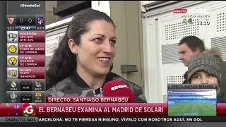 Real Madrid - Real Sociedad: el Bernabéu examina a Solari