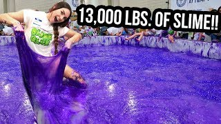 Video SETTING A WORLD RECORD FOR WORLD'S LARGEST SLIME! (NOT CLICKBAIT) download MP3, 3GP, MP4, WEBM, AVI, FLV September 2018