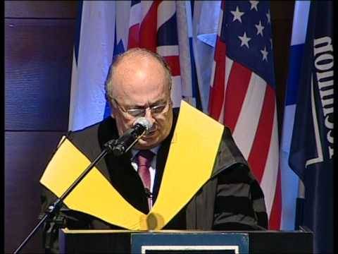 Technion 2010 Honorary Doctorate Conferment Ceremony