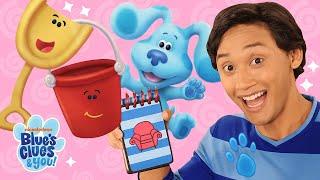 Josh is a Clue! 🔍+ Skidoo w/ Shovel & Pail | Blue's Clues & You!