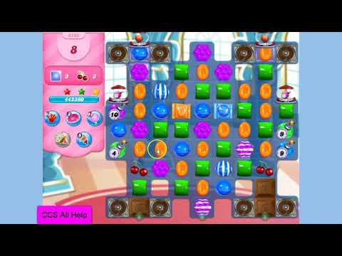 Candy Crush Saga Level 3133 NO BOOSTERS Cookie