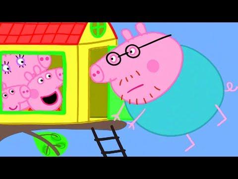 Peppa Pig in Hindi - The Tree House - ????? Kahaniya - Hindi Cartoons for Kids