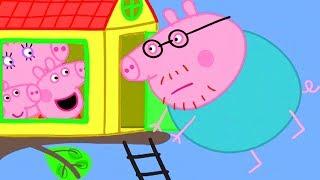 Peppa Pig in Hindi - The Tree House - हिंदी Kahaniya - Hindi Cartoons for Kids