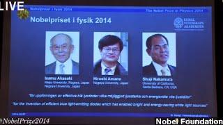 Nobel prize rewards crucial blue led invention