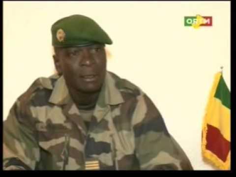 Explication du Capitaine Amadou Sanogo après la démission du PM Cheick Modibo Diarra