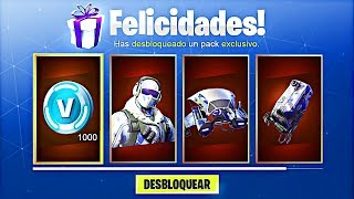 COMMENT À UNLOCK DEEP FREEZE PACK SKINS GRATUIT à Fortnite! (Fortnite Battle Royale Skins Gratuit)