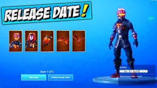 Como chegar LAVA LEGENDS PACK (data de lançamento) Fortnite novo STARTER PACK SKINS/BUNDLE