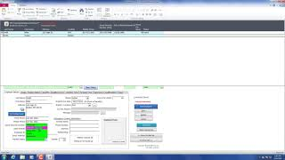 How to log into the hr database and an example of edit save employee record