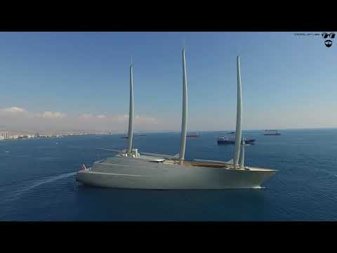 Sailing Yacht A in Limassol