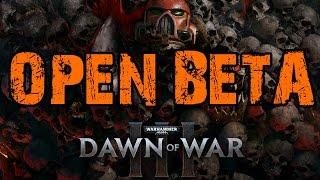 Смотрим multiplayer Dawn of War 3 ОБТ ночной стрим