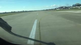 Посадка самолёта в Сочи(Адлер) глазами пилота. Approach & Landing (URSS, RW02), CRJ200 cockpit view