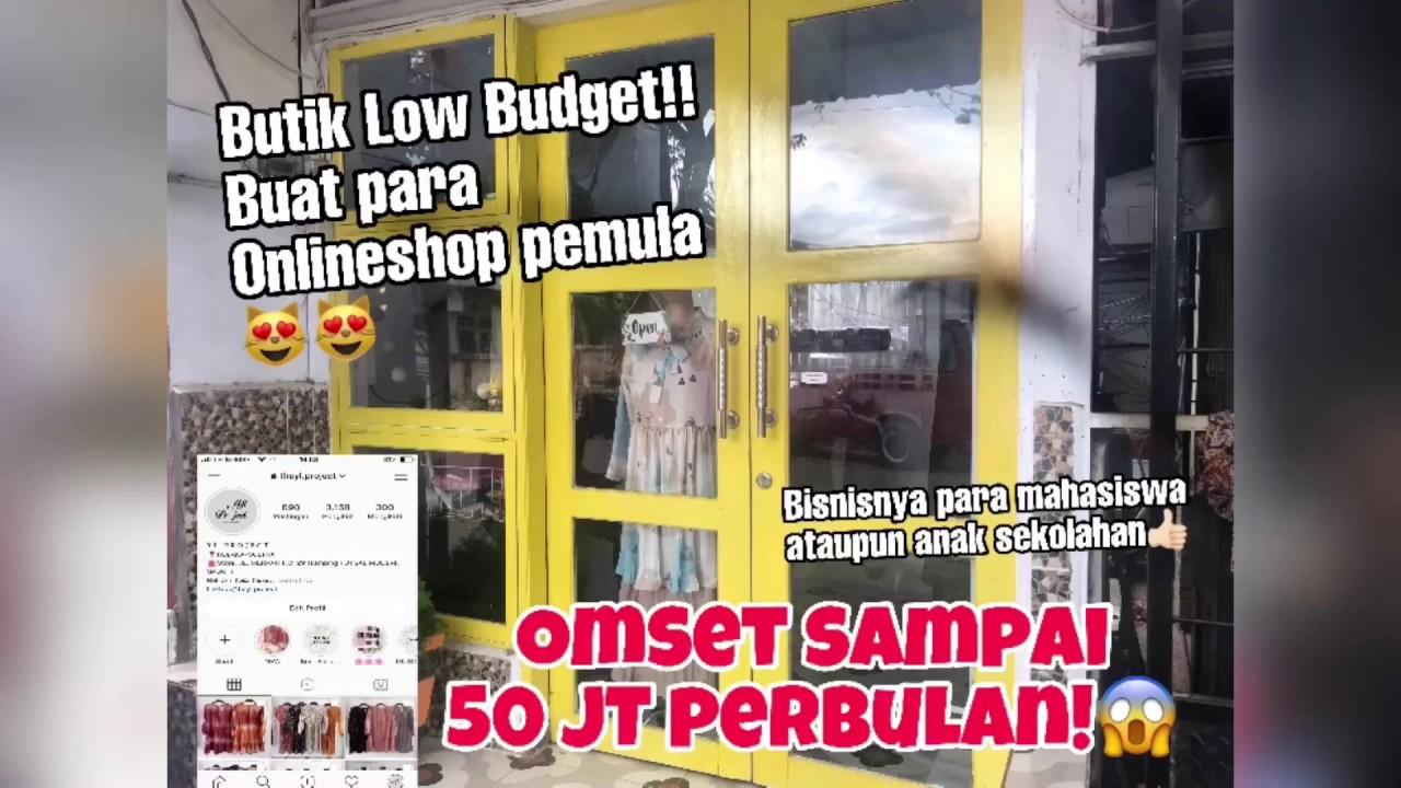 Inspirasi Butik / Toko ONLINE SHOP Bagi Para Pemula Bisnis ...