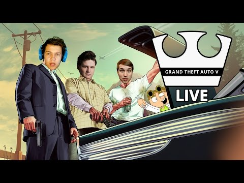 Jirka, GEJMR, MarweX a Baxtrix Hraje - GTA V Online - Jdeme do Ulic [PC] [LIVE]