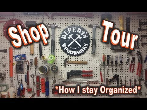 Shop Tour - My Story - Tips on keeping my Shop Organized and Successful