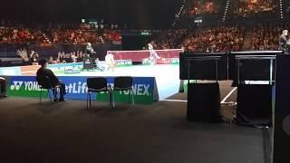 lin dan vs chen long all england badminton 2015 sf part 1 20150307 135731