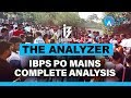 Download The Analyzer   IBPS PO Mains Complete Analysis   1 P.M.