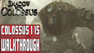 SHADOW OF THE COLOSSUS Gameplay Walkthrough Part 1 No Commentary (Shadow of the Colossus PS4 Remake)