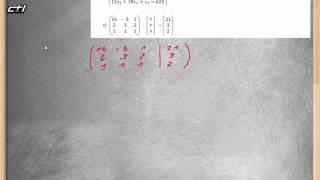 Lineare Gleichungssysteme || LGS lösen rechnerisch und mit GTR  ★ Übung 2