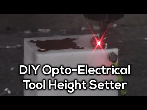 Dual Measurement Tool Setter - Optical and Electrical
