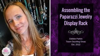 Assembling the Paparazzi Jewelry Display Rack