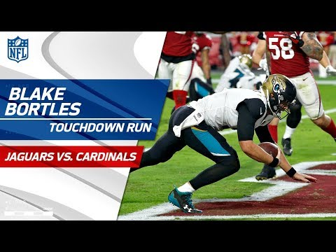 Amazing Runs by Blake Bortles Lead Jags on TD Drive! | Jaguars vs. Cardinals | NFL Wk 12 Highlights
