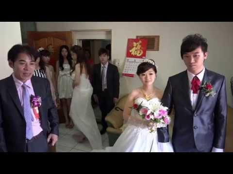 Y14基珍&佳芬結婚迎娶影片