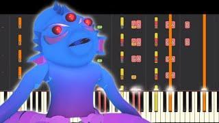 Kraxicorde Kraken Theme - Extended Version - Piano Remix - Piggy Roblox