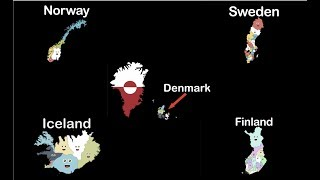 Nordic Country Geography/Nordic Countries/Nordic Country