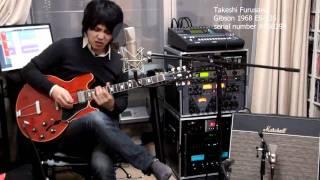 古澤剛 Gibson 1968 ES-335 Purple Haze Jimi Hendrix ギブソン ES335