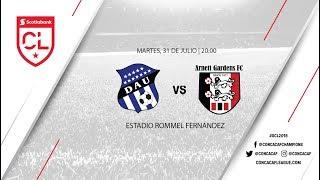 Deportivo Arabe Unido vs. Arnett Gardens