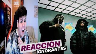 (REACCIÓN) Ignorantes - Bad Bunny x Sech ( Video Oficial )