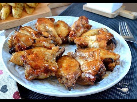 Como hacer alitas de pollo a la barbacoa Receta facil y deliciosa