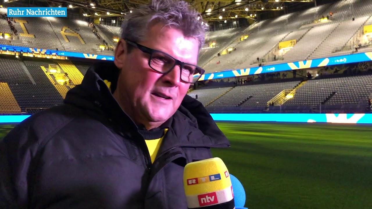 Nobby Dickel über das Weihnachtssingen beim BVB