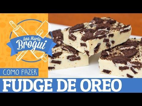 Download Youtube: COMO FAZER FUDGE DE OREO | Só 3 ingredientes e sem forno! | Ana Maria Brogui #410