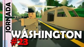 Unturned - Jornada Washington T2#23 Encontrei o Mega Zombie na Base Militar