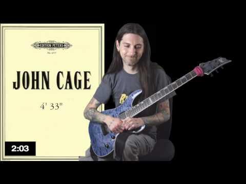 John Cage - 4'33 for Shred Guitar