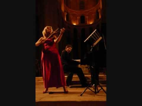 Thierry Huillet 2nd Sonata for violin and piano (2nd movement) by Cernat and Huillet live, audio