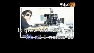 KARAOKE - Grow Old With You (Adam Sandler)