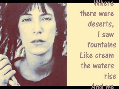Patti Smith   People Have the Power
