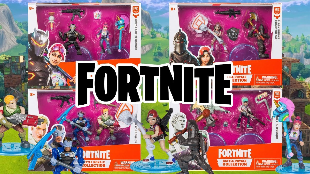 New Fortnite Action Figures Moose Toys