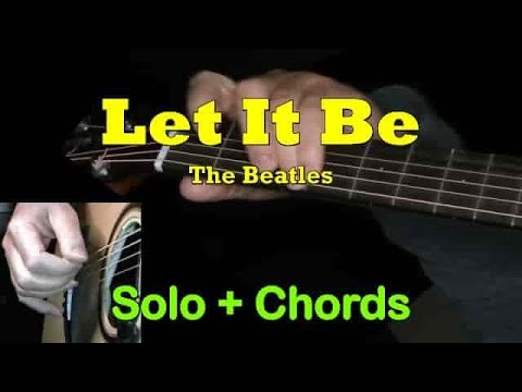 LET IT BE: Easy Guitar Lesson + TAB + CHORDS by GuitarNick