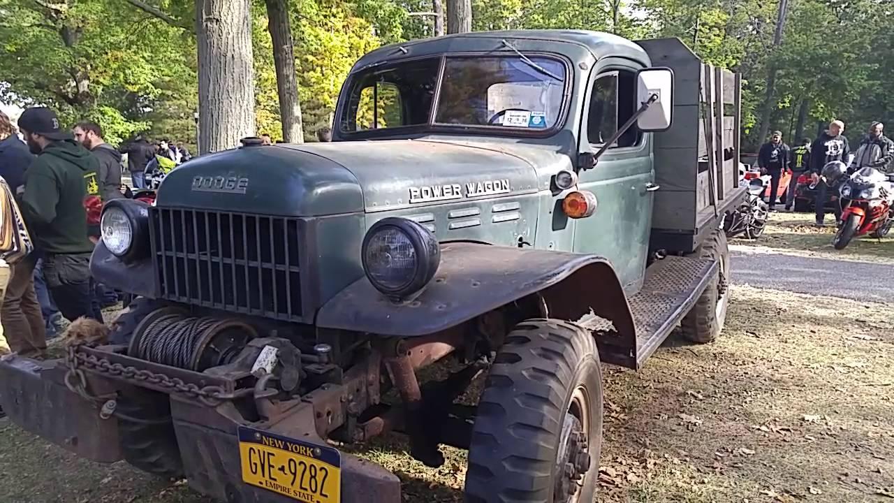 1955 dodge power wagon youtube
