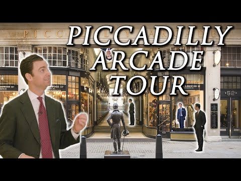 London's Best Menswear Shopping District! Piccadilly Arcade Walking Tour 🚶‍♂️ | Kirby Allison
