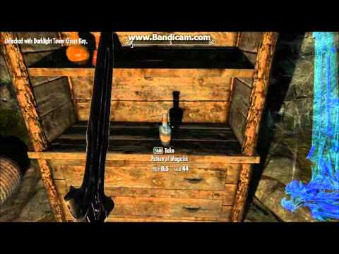 The Elder Scrolls V Skyrim Darklight Tower Walkthrough ...