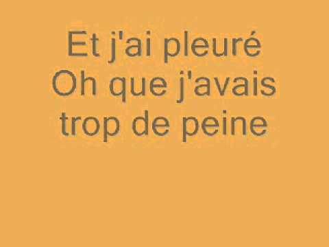 CHRISTOPHE ALINE PAROLES