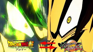 All DBS Broly Anime References In Dragon Ball FighterZ