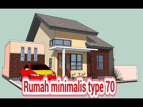 570 Gambar Rumah Minimalis Type 70 Gratis Terbaik