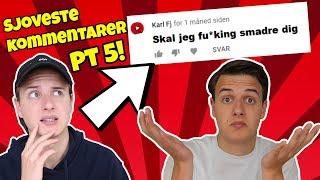 ''SKAL JEG SMADRE DIG!?'' | Sjoveste Kommentarer 5!!